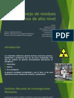 Exposición Residuos Radiactivos
