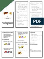 Leaflet Perawatan Post Op Dan Nutrisi Untuk Penyembuhan Luka