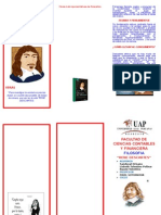 Triptico Rene Descartes