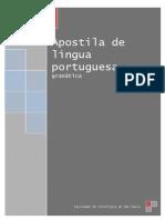 Apostila de Portugues 2013