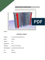 1. Memoria de Calculo-proyecto Estructural - Residencial