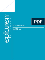 Epicuren Education Manual