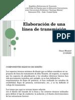 Elaboración de una línea de transmisión