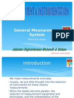 General Measurement System