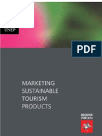 Marketing sustainable Tourism products