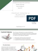 Control Interno y Auditoria Informatica