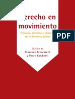 DERECHO en MOVIMIENTO Personas Derecho y Derechos en La Dinamica Global