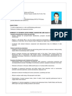 Business Development Resume