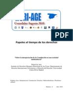 Rafael de Asis Sobre La Interpretacion de La Constitucion en Una Sociedad Multicultural