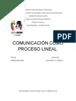 Comunicacion Como Proceso Lineal
