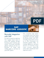 SAP Integrated Barcode Logistic