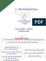 Tema 1.-Termodinámica y Equilibrio