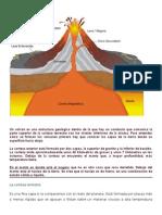 Un Volcán Es Una Estructura Geológica Dentro de La Que Hay Un Conducto Que Comunica La Parte Superior de La Corteza Terrestre Con Los Niveles Inferiores de La Misma