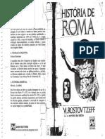 ROSTOVTZEFF, Mikhail - História de Roma