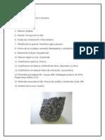 Principales Rocas Plutónicas de Laboratorio.