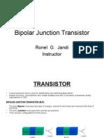 BJT Fundamentals by Ronel Jandi
