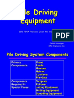 Pile Driving Equipment