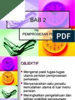 BAB 2 Pemprosesan Perkataan 2