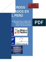 Acuerdos Realizados en El Perú