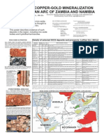 Granitoid-related iron-oxide-copper-gold mineralization, Greater Lufilian Arc, Zambia and Namibia  Mineralización de tipo óxido de hierro-cobre-oro asociada con granitoides, Gran Arco Lufilian, Zambia y Namibia