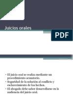 Juicio Orales