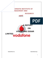 Final Report on Vodafone Essar Limited