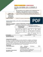 Infracciones y Sanciones Tributarias Art 173 Fabcdefghijkl