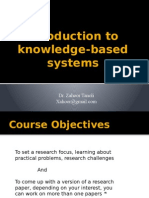 Introduction to Knowledge Base Systems