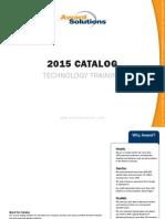 Award Catalog 2015