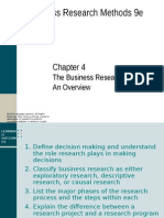 Chapter 4 Zikmund  The Business Research Process.ppt