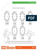 Worksheet Clockworks