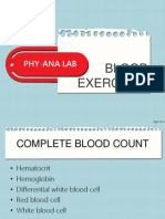 Blood Exercises (PHYANA LAB)