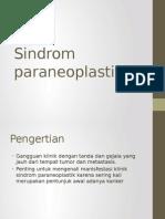 Sindrom paraneoplastik