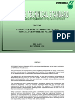 PTS (Conductor Design and installation manual for offshore platform)