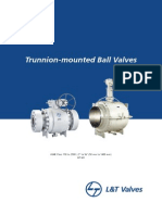 L&T Pipeline Ball Valves