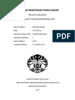Laporan RLAB OR01 - Hizba