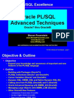 Advanced Techniques of PL/SQL