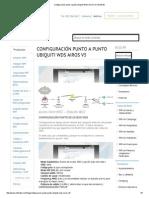 Configuración Punto a Punto Ubiquiti WDS AirOS v5 _ Wifisafe