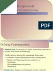 Interpersonal Communication (Wistron)