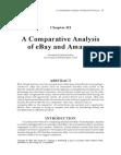 Comparative Study on eBay and Amazon