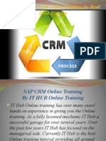 The Best SAP CRM online training by Real Time Experts