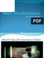 Bharti – Axa Life Insurance