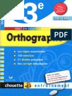 Orthographe 3e