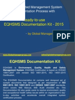 EQHSMS Documetation Kit by Global Manager Group