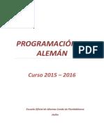 Programación didáctica de alemán