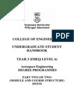 Aerospace Engineering - Year 3