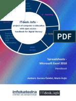 Handbook Spreadsheets Microsoft Excel 2010