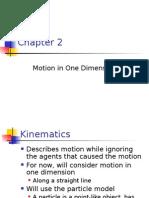 Physics 101Chapter 02
