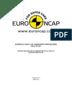 Euro Ncap Frontal Odb Test Protocol v701 April 2015