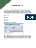 Text Determination in SAP SD